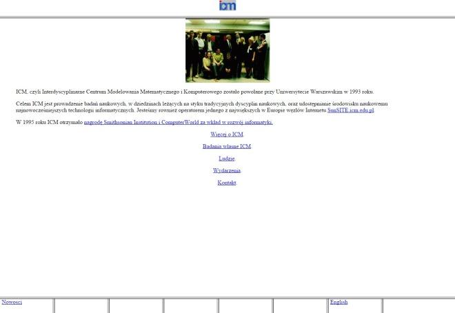 icm.edu.pl 1996