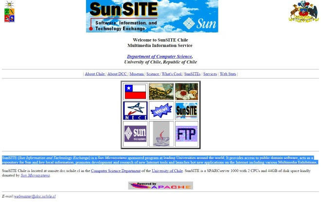 sunsite.dcc.uchile.cl 1996