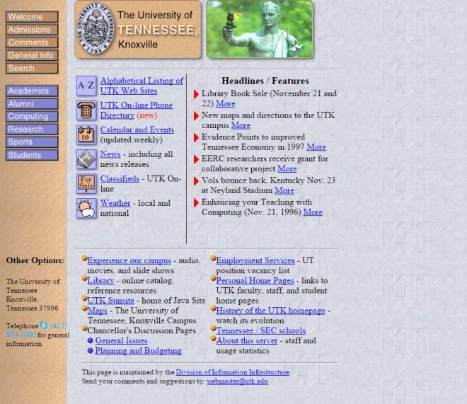 utk.edu 1996
