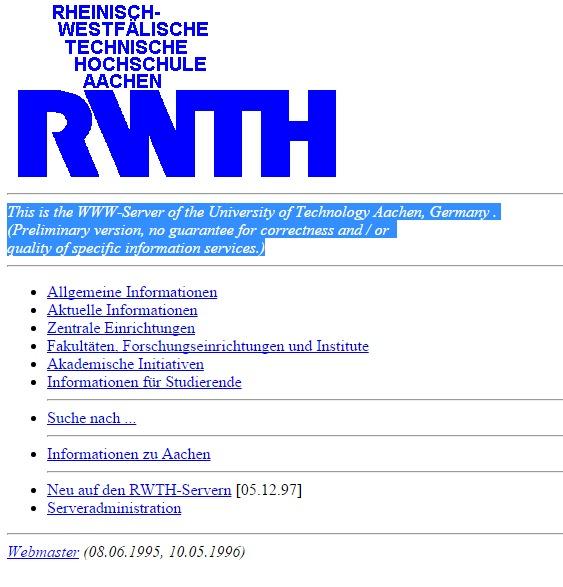 rwth-aachen.de 1997
