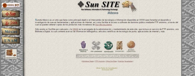 sunsite.unam.mx 1998