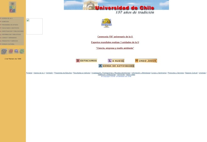 uchile.cl 1998