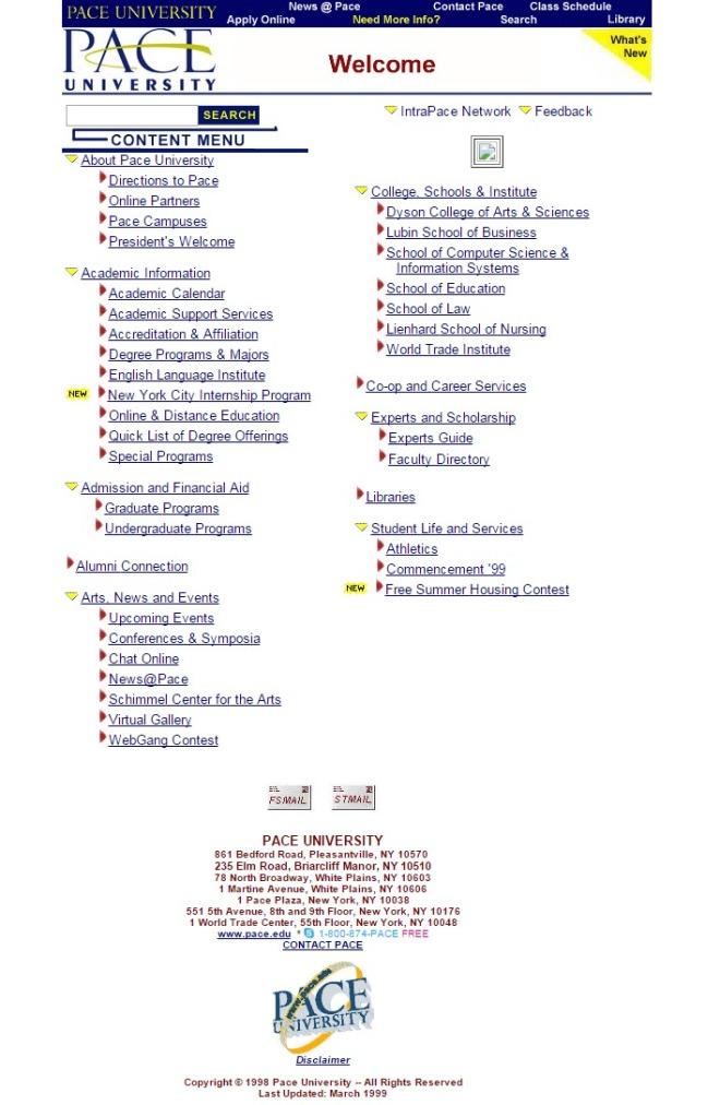 pace.edu 1999