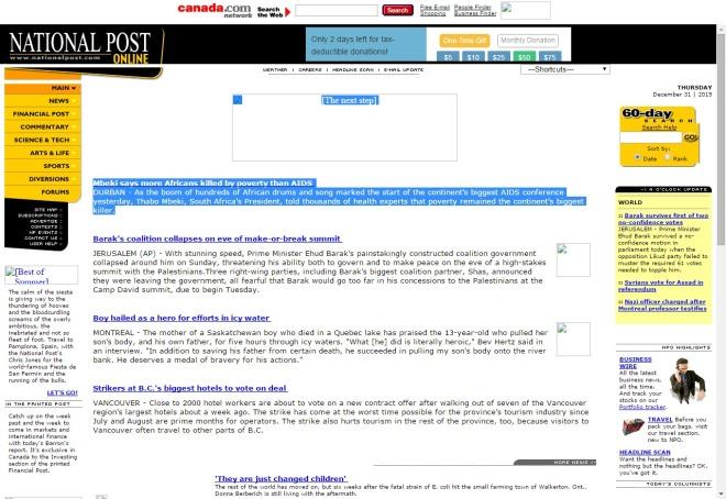 nationalpost.com 2000