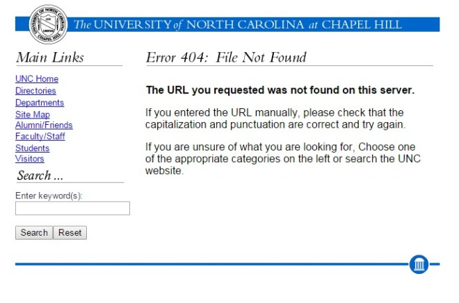 unc.edu 2000