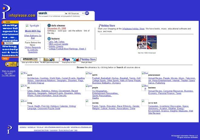 infoplease.com 1998