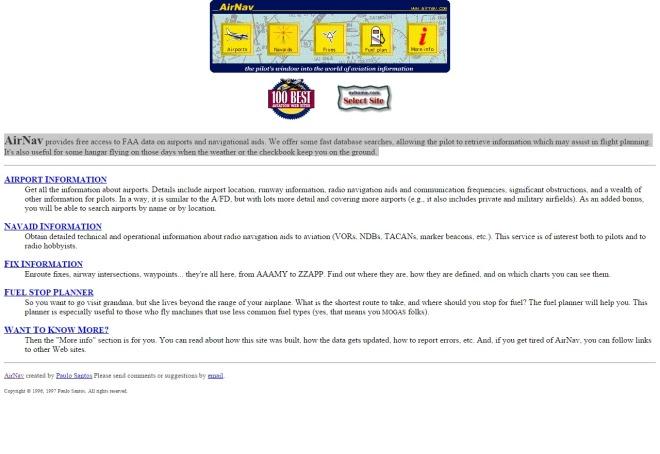 airnav.com 1997