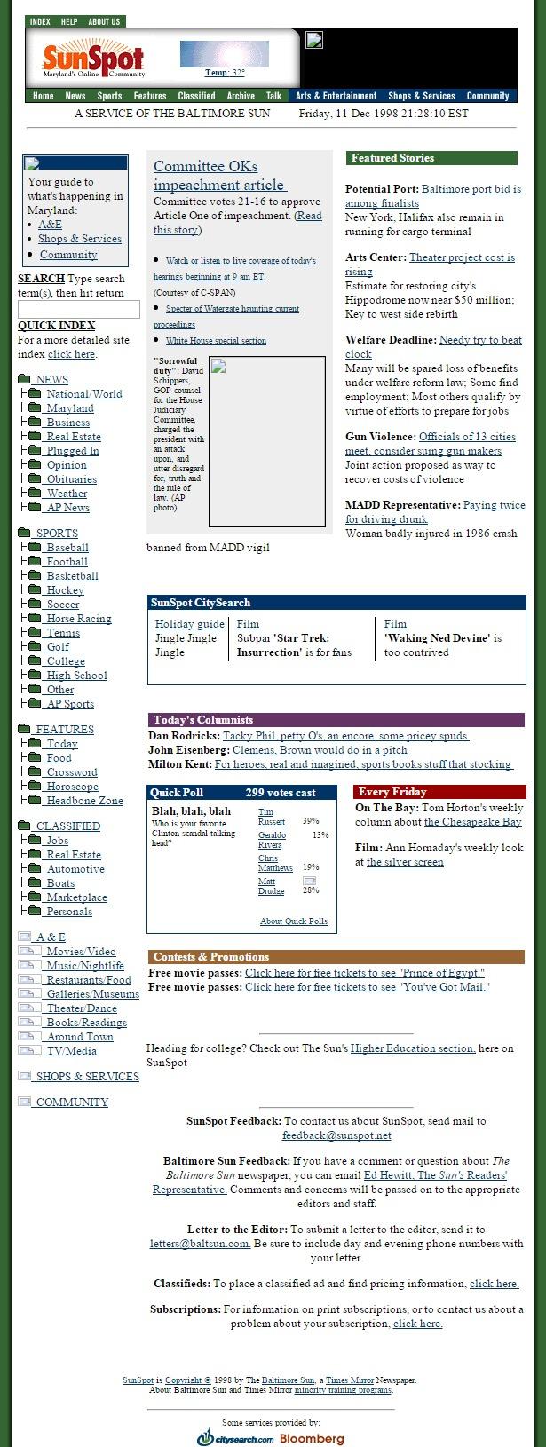 baltimoresun.com 1998