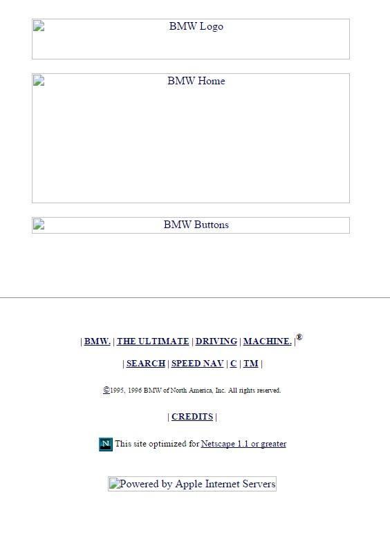 bmwusa.com 1996
