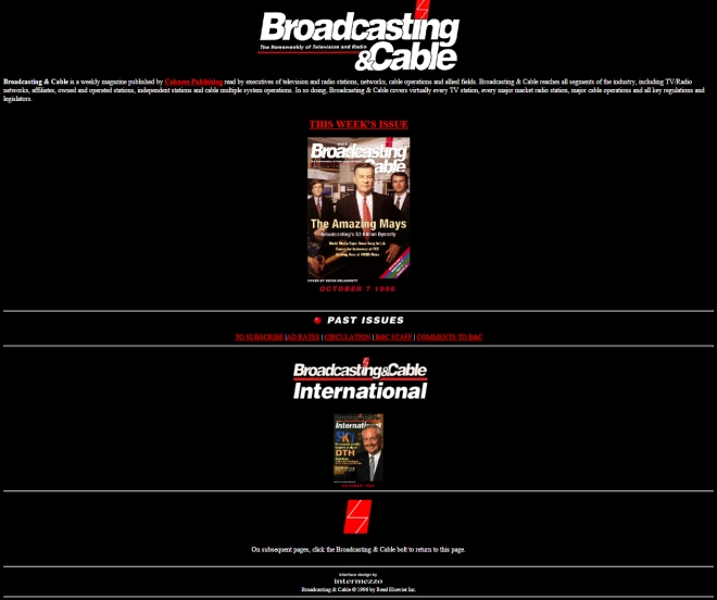 broadcastingcable.com 1996