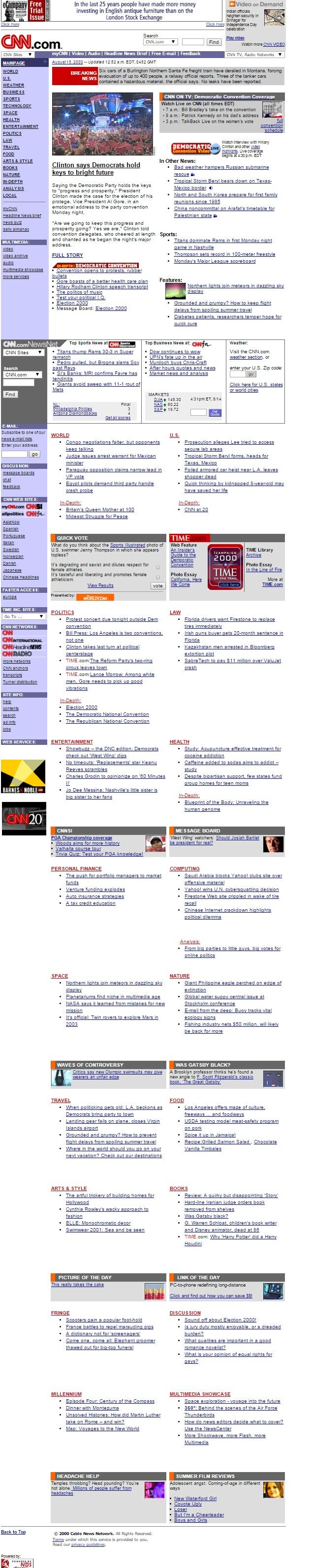 cnn.com 2000