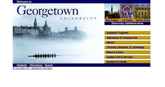 georgetown.edu 1997