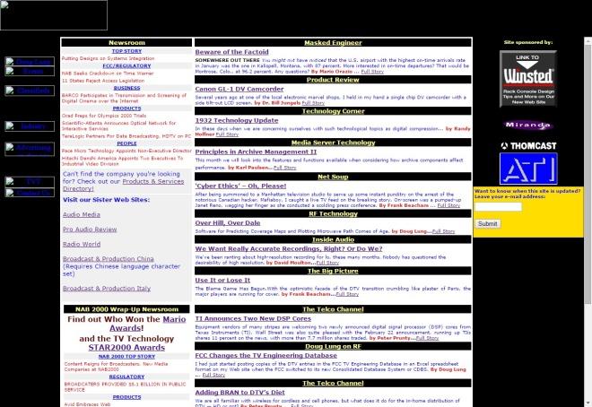 tvtechnology.com 1999
