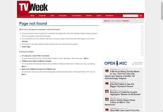 tvweek.com 1998