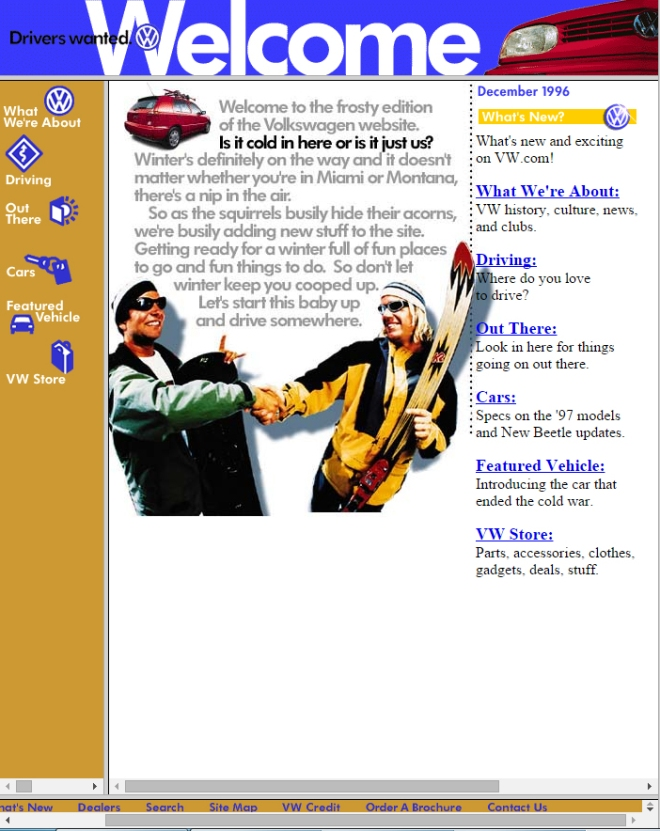 vw.com 1996
